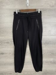 Athleta Womens Size Small Bounce Back Jogger Black French Terry $21.95