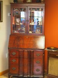 Antique Desk Hutch Bookshelf Secretary $250.00