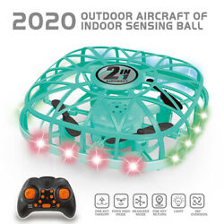 Mini Drone Kids Gesture Sensing Flying Toy with Remote Control Flying Ball Toys $23.93