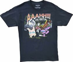 Men#x27;s Nickelodeon AAAHH Real Monsters Vintage Cartoon T Shirt Retro 80s 90s New $15.99