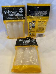 ** UCO 9 Hour Candle 3 Pack UCO Candle Lantern Candlelier New In Bag NIB USA * $9.00