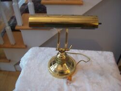 Vtg. Antique Bankers Lamp from Underwriters Laboratories Nice Collectible Adj $22.50
