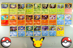 2021 Pokemon Mcdonalds 25th Anniversary Cards Complete Your Set Holos NonHolos $64.99