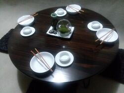 Chabudai Dining Table Hairpin Legs Japanese Table Low Table Floor Table $329.00