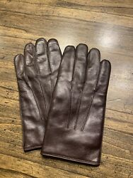 Coach Womens Gloves Leather Size Small Med Brown NWOT $30.00