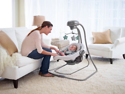 BRAND NEW GRACO DUETCONNECT LX DUET CONNECT 2 IN 1 SWING BOUNCER BABY TODDLER $74.99