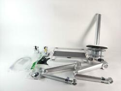 viozon Computer Mount Dual Desk Arm Holder for 17 to 32 Inch SILVER PREOWNED $58.73