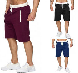 Mens Casual Mesh Shorts Basketball Sport Active Gym Fitness Pants Workout Summer $16.99