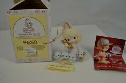 Precious Moments Ornament 4 12 Days of Christmas Ringing in the Season 456012 kQ $17.99