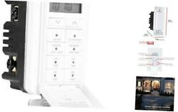 24 Hour Digital in Wall Easy to Program Timer Daily presets to The Minute Co $41.97