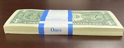 10 Uncirculated Consecutive 2017 A US Federal Reserve Currency $1 Dollar Notes $15.99