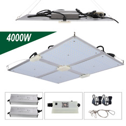 4000W Commercial LED Grow Light Full Spectrum w Samsung LM301B Veg Bloom Indoor