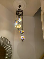 ceiling hanging Turkish lamps GBP 99.99