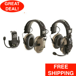 Walker#x27;s Razor Electronic Ear Muffs with Walkie Talkie Sound Activated 2 Pack $195.99