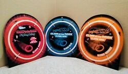 Oglo Sports Glow in the Dark Flying Disc Rings Three New in package $39.95