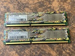 4GB 2 X 2GB OCZ quot;SPECIAL OPSquot; Edition DDR3 GAMING MEMORY PC3 12800 $20.00