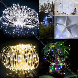 50 200 Led Solar Power Fairy Light String Lamp Party Xmas Deco Garden Outdoor $7.99