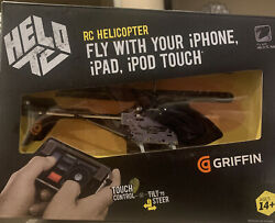 GRIFFIN HELO TC Touch Controlled Helicopter Control Deck Two Blades And Rotors $20.19