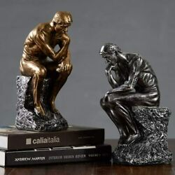 Famous Thinker Statue Abstract Sculpture amp; Figurine Thinking Man Unique Decor $34.99