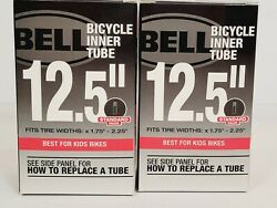 Bell Standard Valve 12.5quot;x 1.75 2.25quot; Bicycle Inner Tubes For Kids Bike 2 Pack $9.99