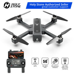 4K Brushless GPS Drone Holy Stone HS550 with HD Camera Foldable Quadcopter FPV $279.98