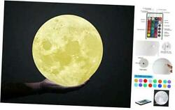 Moon Lamp Large7 Inch Moon Light16 Colors LED 3D Moon Lamp with 7Inches $38.72