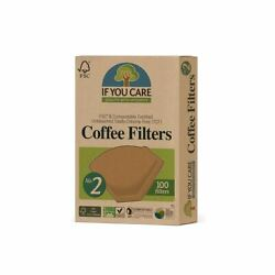 If You Care Compostable Unbleached Chlorine Free Coffee Filter No2 $10.67