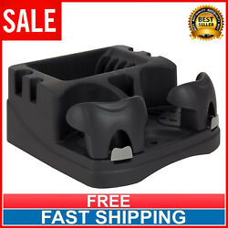 Car Console Organizer Cup Holder Truck Seat Floor Tray Drink Beverage Holders $12.70