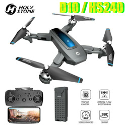 Holy Stone HS240 Drone with Camera 4K HD FPV RC Quadcopter Helicopter for Kids $65.95