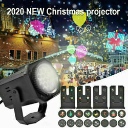 Christmas Lights Projector LED Laser Indoor Landscape Xmas Move Lamp Xmas Gift