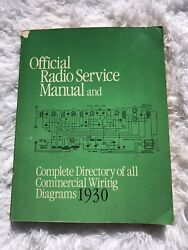 Official Radio Service Manuel Commercial Wiring Diagrams 1930