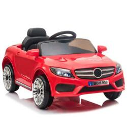12V Ride On Car Electric Power Child Kids Toy 3 Speed Remote Control Music Red $99.99