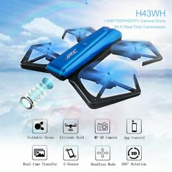 JJRC H43 Foldable RC Drone w 720p Camera One Key WIFI FPV RC Quadcopter Toy PR $27.89