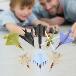 8x Airforce Jet Play Set Airplane Sets for Kids Boy Girls Helicopter Toys $19.19