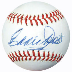 Eddie Joost Autographed Signed AL Baseball Red Sox A#x27;s PSA DNA AC23099 $52.49