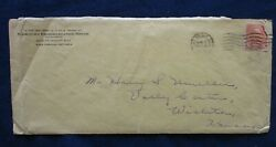 1926 Las Vegas Nevada Wortley Consolidated Mines Cover Cancel 6c Garfield Stamp $4.99