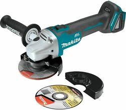 Makita XAG04Z 18V LXT Brushless 4 1 2quot; 5quot; Angle Grinder Tool Only $119.00