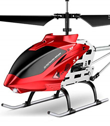 SYMA RC Helicopter S37 Aircraft with Altitude Hold 3 Channel Sturdy Alloy and $120.79