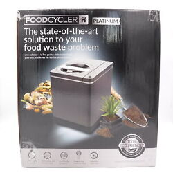 Food Cycler Platinum Indoor Food Waste Recycler and Kitchen Compost Container $319.99