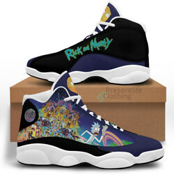 #x27;#x27;Rick And Morty#x27;#x27; Shoes Printed Air JD13 Shoes For Men and Women $79.99