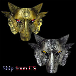 Wolf Mafia Game Props Face Mask fo Cosplay Stage Clubbing Rave Party Scary Masks $6.99