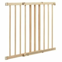 Evenflo Top of Stairs Extra Tall Baby Pet Gate Tan Wood 30 48quot; W 32quot; T $34.03