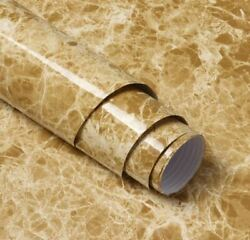 118quot; Brown Marble Peel and Stick Wallpaper Granite Countertop Contact Paper $11.50