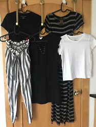 5pc Teen Girls XS 10 12 Clothing Lot incl Aero Dress AE Flowy Pants Bamp;W Palette $34.99