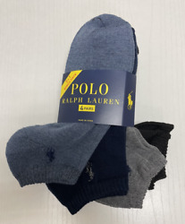 MENS POLO CLASSIC SPORT ANKLE CUSHIONED PLUS SOCKS 4 PAIR 8 SOCKS YOU PICK $19.96
