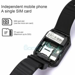 NEW Waterproof Bluetooth Smart Watch w Cam Phone Mate For IOS Android $20.95