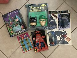 NIB Vintage Batman Toy LOT New In Packaging Batman Forever Robin Birthday $69.00