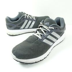 Adidas Energy Cloud Mens Size 10.5 Gray White Running Shoes BY1925 $31.99