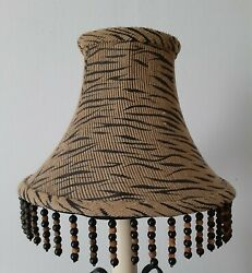 Lamp shade with beads $20.00