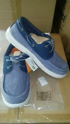 Men#x27;s Soft Science The Cruise Fishing Boat Shoes Blue Shoes 12 $48.99